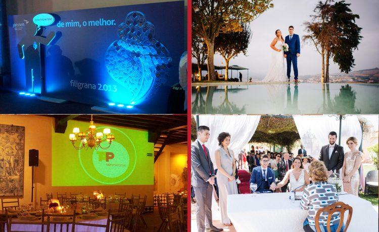espaço para casamentos e eventos empresariais em Portugal